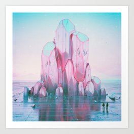 TINCT FORMATION DISCOVERY (06.15.15) Art Print