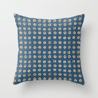 astrology Throw Pillows featuring Astrology 2 by lxcart