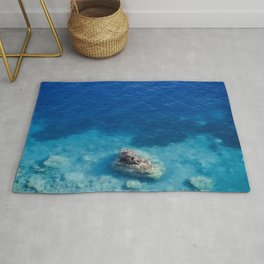 Sea with Clear Blue Waters Rug