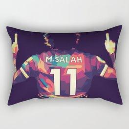 Mohamed Salah Rectangular Pillow
