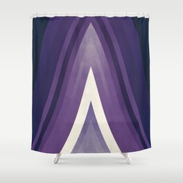 stripes wave pattern 6 fn Shower Curtain