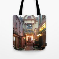 maine Tote Bags featuring Maine by Christina Hand