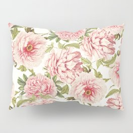old fashioned peonies Pillow Sham
