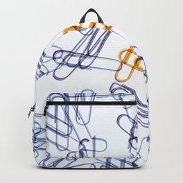 Kaleidoscope -Paper Clips Backpack