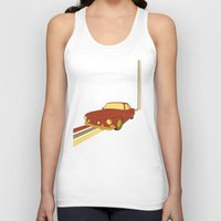 70s Tank Tops featuring 70s by Maestral