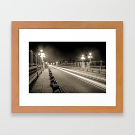 Colorado Street Bridge - Pasadena, CA Framed Art Print