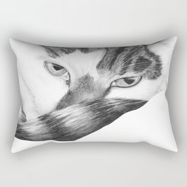Elfie the cat Rectangular Pillow