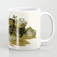 home sweet home Mugs featuring Home Sweet Home by Teagan White