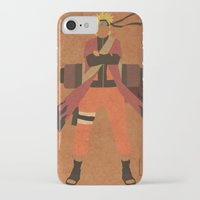 naruto iPhone & iPod Cases featuring Sage Naruto by JHTY