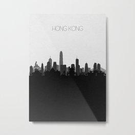 City Skylines: Hong Kong Metal Print