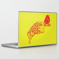 henna Laptop & iPad Skins featuring Henna by Libbysscribbles
