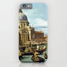 Canaletto Bernardo Bellotto  -  The Entrance To The Grand Canal  Venice iPhone Case