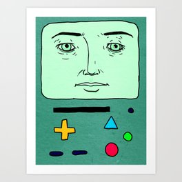 BMO kinda Art Print