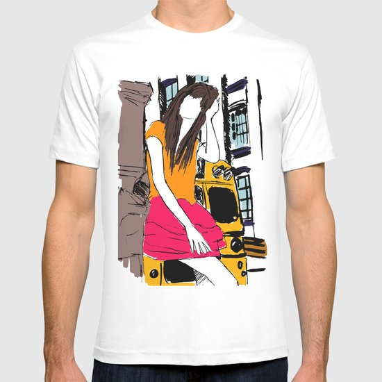 miss the bus T-shirt
