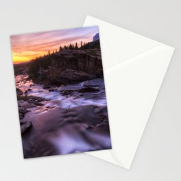 Falls at first light Stationery Cards