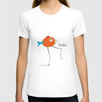 chicken T-shirts featuring Chicken by Icela perez bravo