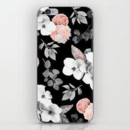 Night bloom - moonlit flame iPhone Skin