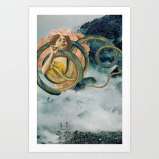 Cloud Mother Art Print