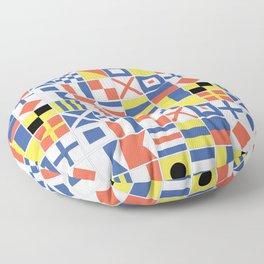 Nautical Flags Floor Pillow