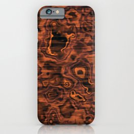 Knotted Wood iPhone Case