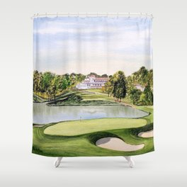 The Congressional Golf Course 10th Hole Shower Curtain