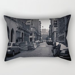 Cobble Stone Street In NYC Rectangular Pillow