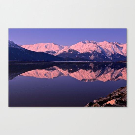 Rose Alpenglow Canvas Print