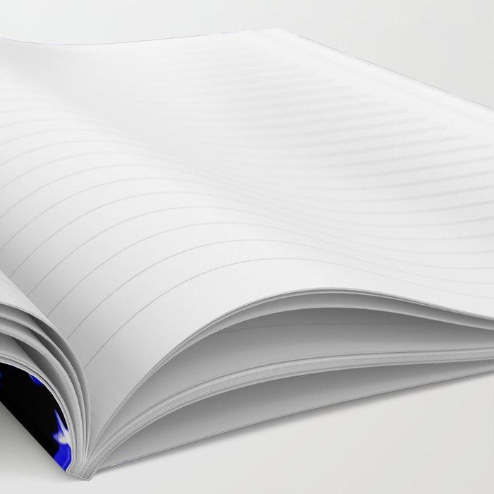 Blue Bandana Pattern Notebook