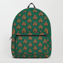 Pancake-Eating Bear Backpack