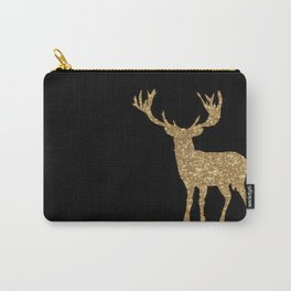 Sparkling golden deer - Wild Animal Animals on #Society6 Carry-All Pouch