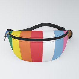 ALL THE COLORS OF LGBTQI+ QUEER COLOUR STORY UNITY Fanny Pack