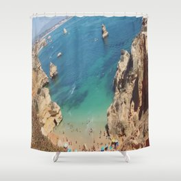 Praia do Camilo Shower Curtain