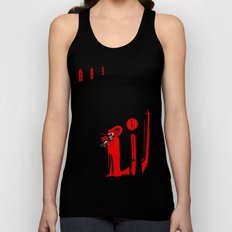 The Masque of the Red Death Unisex Tank Top