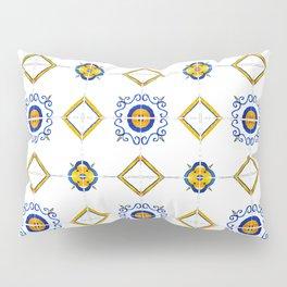 Majolica pattern Pillow Sham