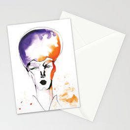 Butch Queen with Fabulous Hair Stationery Cards