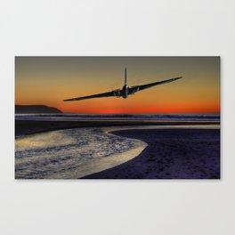 Sunset Vulcan  Canvas Print