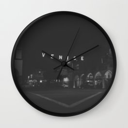 136 | venice beach Wall Clock