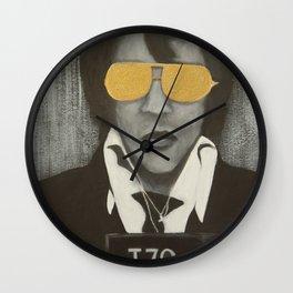 Elvis Mugshot Wall Clock
