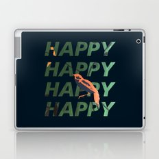 Happy Happy Happy Laptop & iPad Skin
