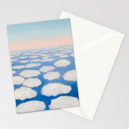 Georgia O'Keeffe Above the Clouds Stationery Cards