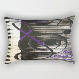 Music  Art Rectangular Pillow