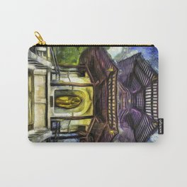 The Pagoda Vincent Van Gogh Carry-All Pouch
