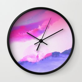 STAIRWAY TO Wall Clock