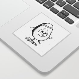 Pizzacado Sticker