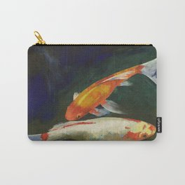 Feng Shui Koi Fish Carry-All Pouch