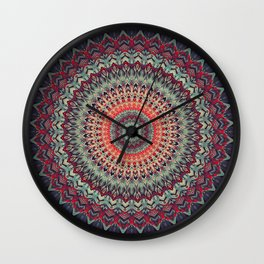 Mandala 300 Wall Clock