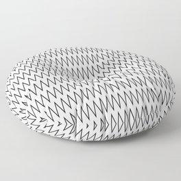 Minimalist Chevron Floor Pillow