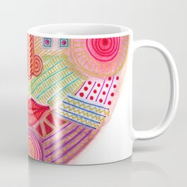 the all seing tranquility mask Coffee Mug