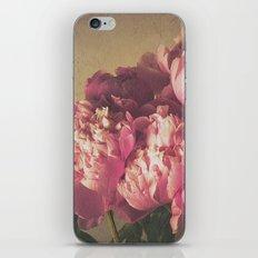Pink Peonies II Botanical Still Life iPhone & iPod Skin