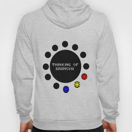 Thinking of Brancusi Table of Silence Inspired by Brancusi  Hoody